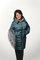 Стильная зимняя куртка для женщины Размеры 50 - 58