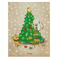 Полотенце новогоднее Tree 45х60см
