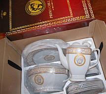 Сервиз столовый Prima Collezione Karro Gold 57 предметов, фото 2