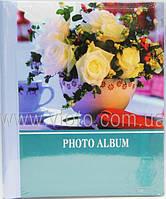 Фотоальбом 21х27 SP-20 20магнит.листов спираль Цветы 5видов