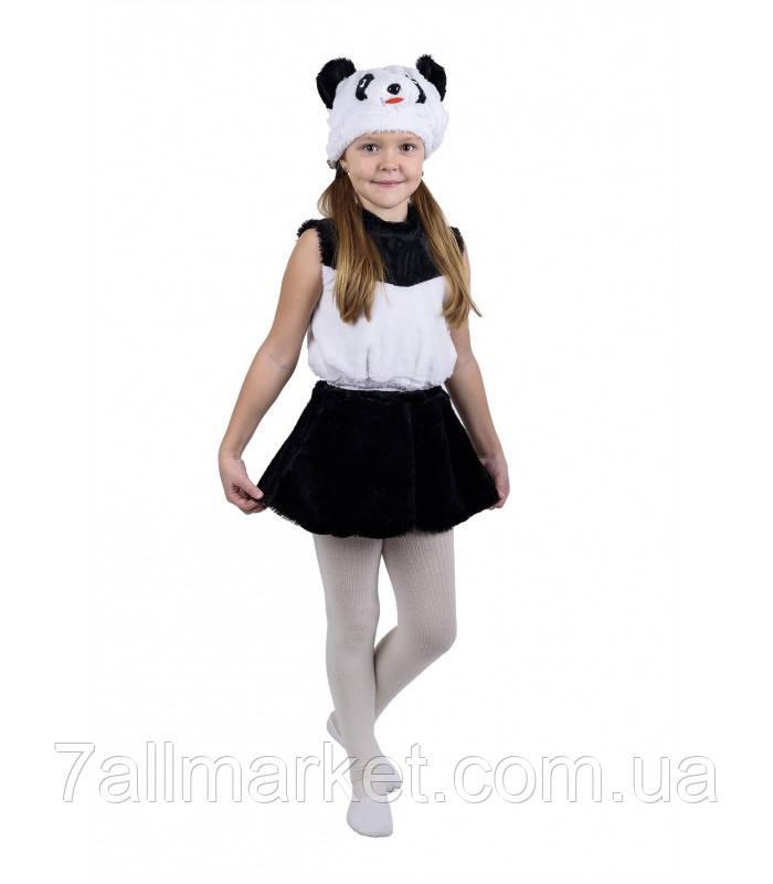 Карнавальный костюм Панды для девочки 3-6 лет (Украина) купить оптом в  Одессе 07b17a4409088
