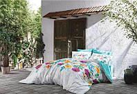 Двуспальное евро постельное белье TAC Belize Бамбук