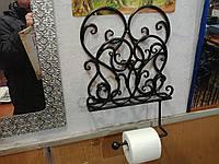 Кованый держатель для туалетной бумаги 2 арт пи 16, фото 1