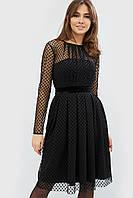 Нарядное женское платье черный MAREA