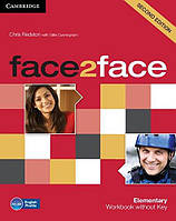 Face2face 2nd Edition Elementary WB - key