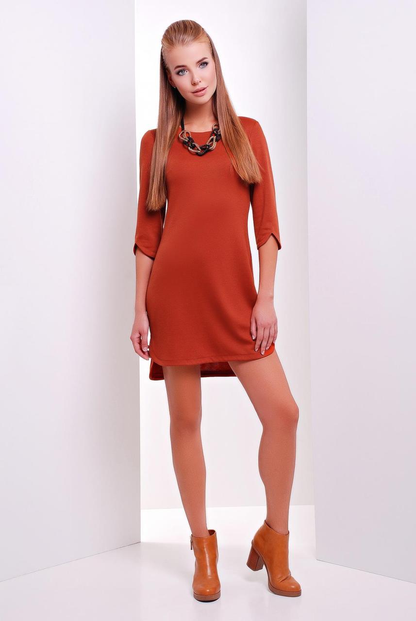 Платье 1625 кирпичный
