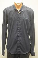 Рубашка мужская турецкая с длинным рукавом