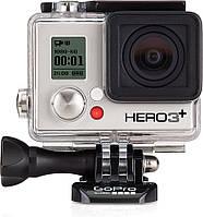 Экшн-камера GoPro HERO3+ Silver Edition (CHDHN-302)