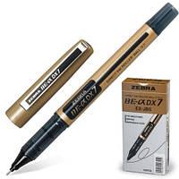 Ручка-роллер 0.7 мм ц.Черный Zebra