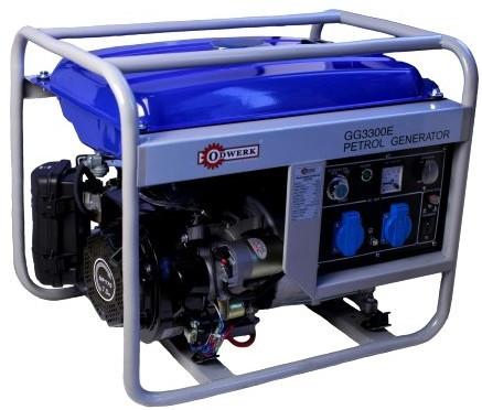 Бензиновый генератор ODWERK GG3300E(электро стартер)Безщеточный-Асинхронный.