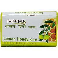 Мыло Канти лимон и мед Патанджали (Kanti Lemon Honey soap Patanjali) 75 гр