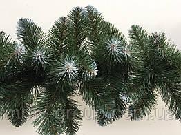 Гирлянда хвойная новогодняя заснеженная 300 см