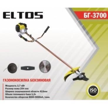 Мотокоса Eltos БГ-3700, фото 2