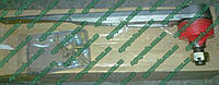 Головка ножа жатки AH211795 пятка AH121075 John Deere запчасти КУПИТЬ KXE10217, фото 1