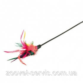 Игрушка для кошек Палочка с перьями Trixie 4106 50 см, фото 2
