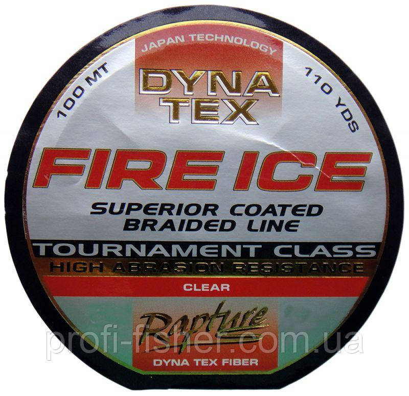 Шнур RPT Dyna-Tex Fire Ice Glear 100m 0.20mm