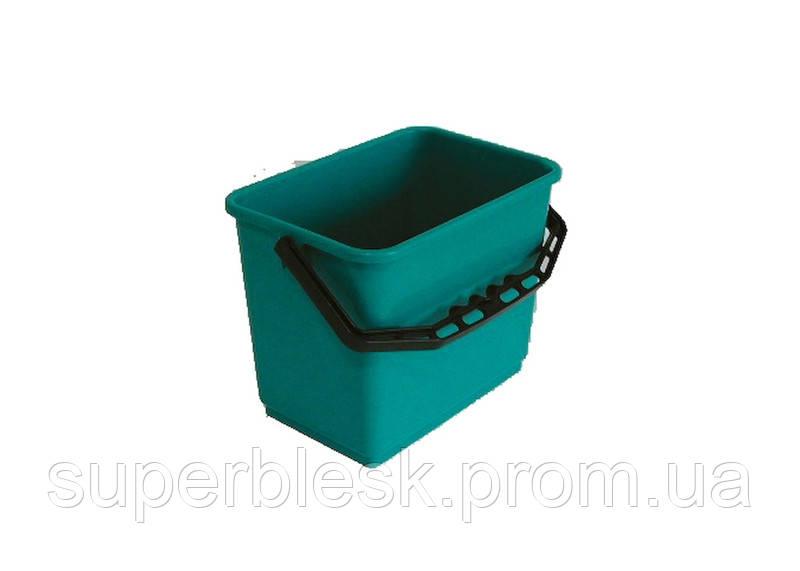 Ведро пластиковое 6л зеленый