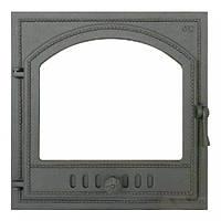 Чугунная каминная дверца 406 SVT 500х500 мм (герметичная)