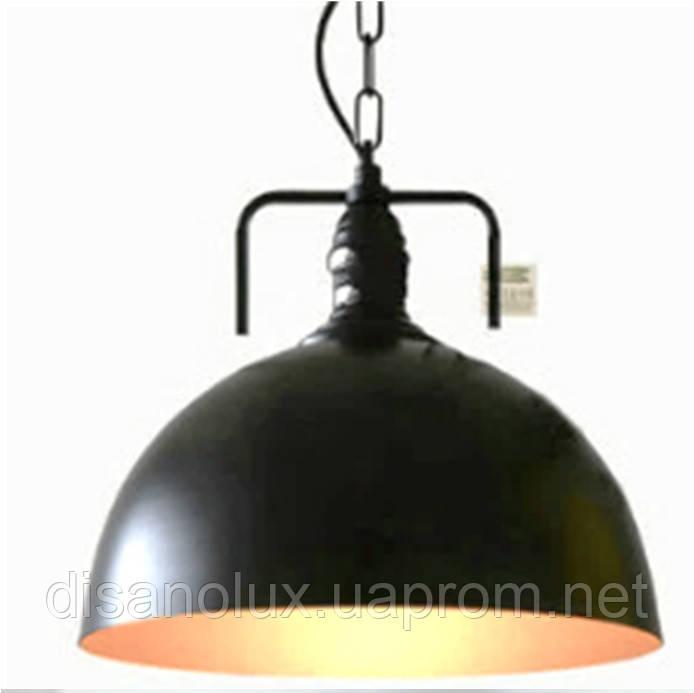 Светильник LOFT  WM-D1007-1  Е27 Ф30см  BK
