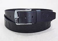 Мужской кожаный ремень Philipp Plein для джинс