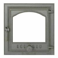 Чугунная каминная (печная) дверца 410 SVT 400х370 мм (герметичная)