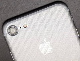 Пленка на корпус iPhone 8 Carbon
