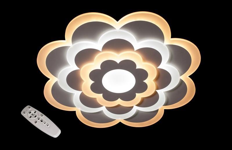 Светодиодная потолочная люстра ромашка 6000-550 Dimmer