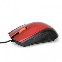Мышь проводная HAVIT HV-MS689 USB, red