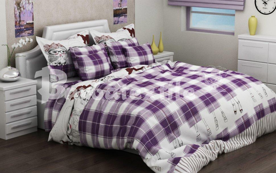 Качественное постельное бельё бязь Голд (1,5 сп)