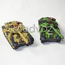 Набор боевые детские танки 2шт. большие на радиоуправлении пульте War Tank, фото 2
