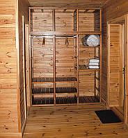 Шкаф деревянный модульный