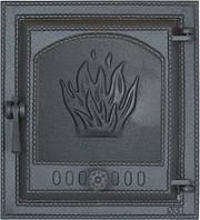 Чугунная печная дверца 411 SVT 400х370 мм (герметичная)