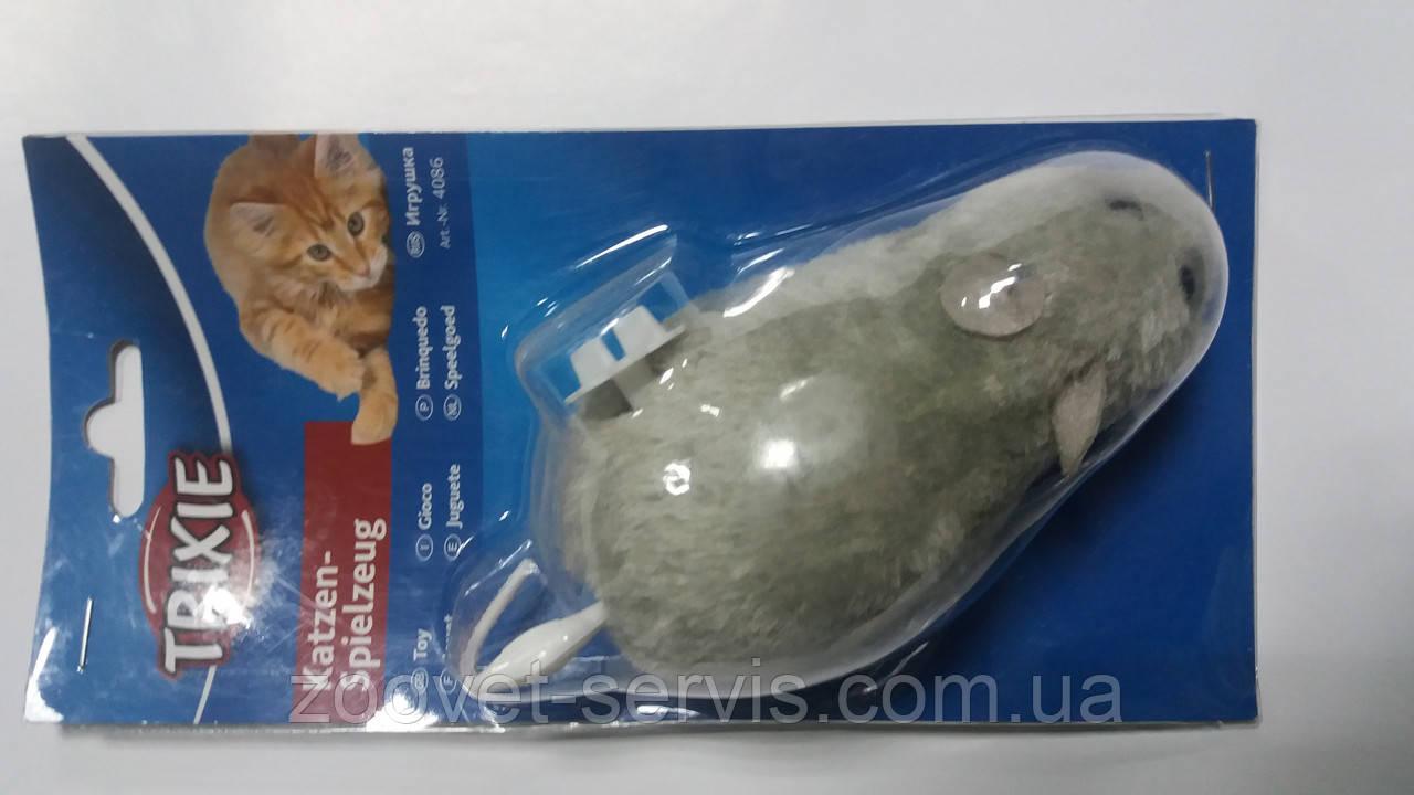 Мышь плюшевая заводная для котов Trixie (Трикси) 4086