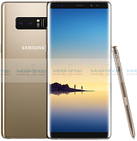 Телефон,Смартфон  Samsung Galaxy Note 8 Maple Gold 100% КОРЕЙСКАЯ КОПИЯ