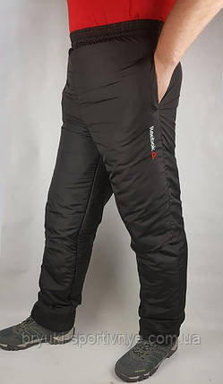 Штаны зимние мужские на флисовой подкладке 48 ( маломерка), фото 2