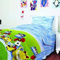 Комплект постельного белья Гарфилд, хлопок, детский