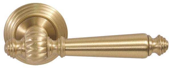 Дверные ручки FIMET MICHELLE 106-269 F02 матовая латунь, фото 1
