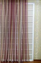 Тюль Домиан бордо, (3м ширина), фото 3