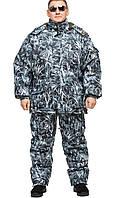 """Теплый зимний костюм, белая ночь """"Зимний камыш"""" размер 56-58 для охоты и рыбалки"""