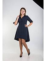 Стильно женское платье делового стиля, размер 48,50 код 4341М