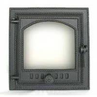 Чугунная каминная (печная) дверца 412 SVT 400х370 мм (герметичная)