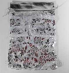 Прозрачный подарочный мешочек размеры: высота- 24см, ширина- 16 см