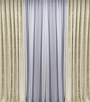 "Комплект штор ""Рауль"" (Жаккард вышивка), фото 2"