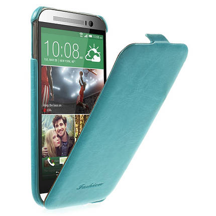 Чехол Flip Fashion Crazy Horse для HTC One M8