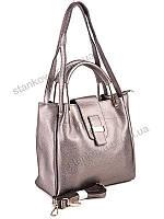 Женские сумки эко-кожа(кисми)W-775 бронзовый