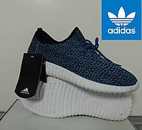 Кроссовки мужские Адидас Изи Буст (реплика). Adidas Yeezy Boost 350, беговые кроссовки, фото 1