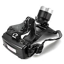 Кри XM-L Т6 1600лм LED велосипед перезаряжаемые фара переменного тока Автомобильное зарядное устройство, фото 3
