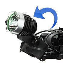 Кри XM-L Т6 1600лм LED велосипед перезаряжаемые фара переменного тока Автомобильное зарядное устройство, фото 2