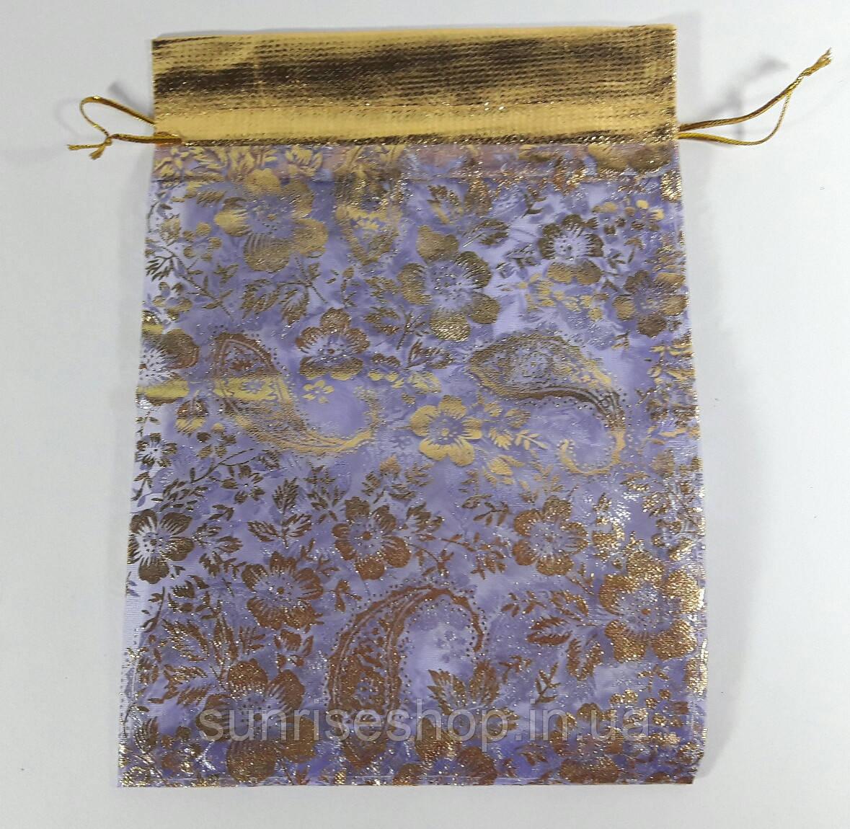 Прозрачный подарочный мешочек размеры: высота- 21,5 см, ширина- 15 см