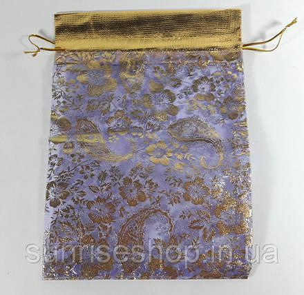 Прозрачный подарочный мешочек размеры: высота- 21,5 см, ширина- 15 см, фото 2